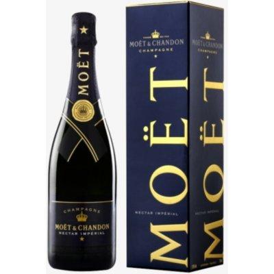 Moet & Chandon Nectar Imperial demi sec GiftBox 0,75 l