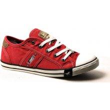 Mustang 1099 302 5 červené dámské tenisky dámská obuv