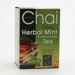 Fudco Čaj máta a citronová tráva 40 sáčků 80 g