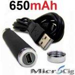 Green Sound Baterie USB 650mAh eGo černá