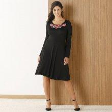 236096b9c Blancheporte šaty se vzorem květin černá