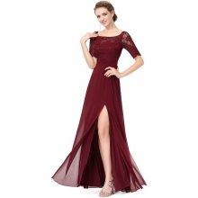 Ever Pretty elegantní plesové šaty 8793 bordó 183614e91a