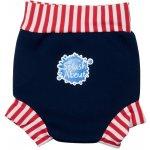 Happy Nappy - kojenecké plavky SplashAbout, modročervené