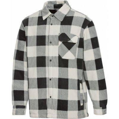Parkside pánská košilová bunda bílá/káro