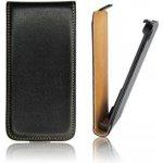 Pouzdro ForCell Slim Flip Nokia Lumia 620 černé