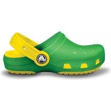 CrocsCrocs Chameleons Translucent Clog Kids LimeYellow