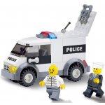 ICOM Blocki policejní dodávka 85 dílů