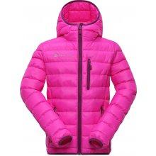 Alpine Pro dívčí prošívaná bunda Bartollo růžová