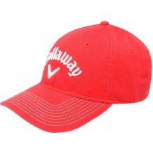 Callaway Lo Pro Golf Cap Red Pánské