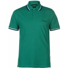 Pierre Cardin Tipped Polo Shirt Mens Green
