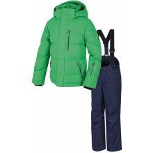 Dětská lyžařská souprava HANNAH Duffy JR classic green peacoat