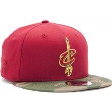 New Era Team Camo Cleveland Cavaliers 9FIFTY Cardinal Woodland Camo Snapback  červená   camo   6fbf3c2a8e