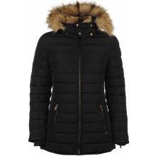 Firetrap Luxury Bubble Jacket černá