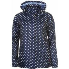 Gelert Packaway Jacket Ladies Navy Pokka Dot