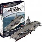 CUBICFUN 3D puzzle Letadlová loď USS Enterprise 121 dílků