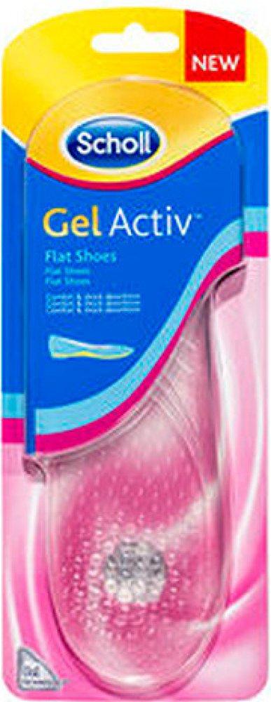 8b6fdb22b3db ... Scholl Gel Activ Flat Shoes vložky do bot s plochou podrážkou ...