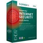 Kaspersky Internet Security multi-device 2014 3 lic. 1 rok ESD (KL1941ODCFS)