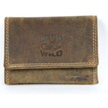 Pánská kožená velmi malá kapesní peněženka