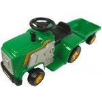 Kids World Dětský elektrický traktor-s vlekem