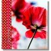 Fotoalbum na růžky Panodia ELEA - červené máky
