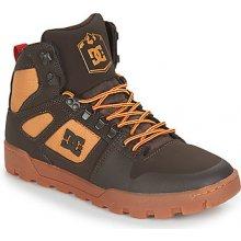 DC Shoes Kotníkové boty PURE HT WR BOOT M BOOT CH6 Hnědá 0b6c30a24c
