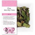 UNIQUE TEA Čaj Čína PAI MU TAN Bílý čaj 50 g