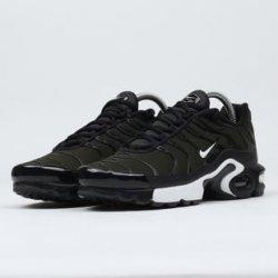 Nike Air Max Plus (GS) sequoia white black