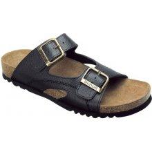 Scholl MOLDAVA černé zdravotní pantofle 835df36a2c