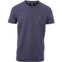 Lyle And Scott Mens Plain Pick Stitch T Shirt Grey