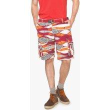 kalhoty Desigual rojo contra
