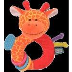 Fiesta Crafts chrastítko s kousátkem žirafa