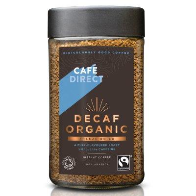 Cafédirect BIO instantní Káva bez kofeinu 100 g