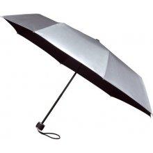 Skládací deštník Fashion stříbro-černý