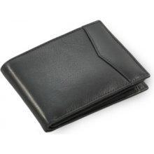Arwel Pánská kožená peněženka 513 12809 s vnitřní zápinkou černá