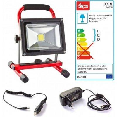 DEMA Přenosný LED pracovní reflektor LAK20
