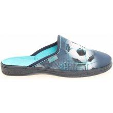 Befado chlapecké domácí pantofle 707Y381 modré