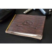 dolarka zelená kůže pánská kožená peněženka 7107612036
