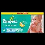 Pampers Active baby 2 mini 3-6kg 108ks