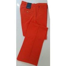 J.Lindeberg kalhoty Ellott Reg Micro Stretch oranžové