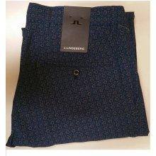 J.Lindeberg kalhoty Ellott Micro Stretch modro bílé