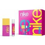 Nike Pink Woman EdT 50 ml + roll-on 20 ml dárková sada