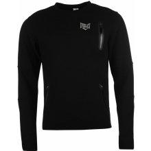 Everlast Fluorescent Crew Neck Sweatshirt pánská Black
