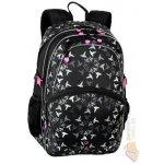 Bagmaster školní batoh RABR 0114 A BLACK/BIRDS
