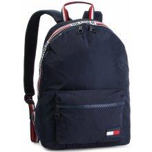 4285439f5e Tommy Hilfiger tommy backpack sports tape AM0AM04630 tmavomodrá