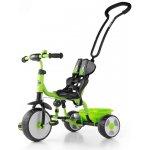 Milly Mally Boby Bike Deluxe Dětská tříkolka se zvonkem green