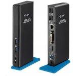 i-Tec USB3.0 Docking Station Dual + USB Charging port U3HDMIDVIDOCK