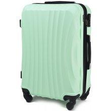 Wings Cestovní kufr skořepinový, mini,světle zelená