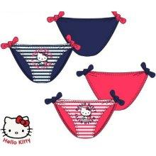Hello Kitty dívčí plavkové kalhotky růžové