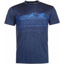 Karrimor Merino T Shirt Mens Navy Marl