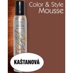 Omeisan Color & Style Mousse tužidlo (kaštanové) 200 ml
